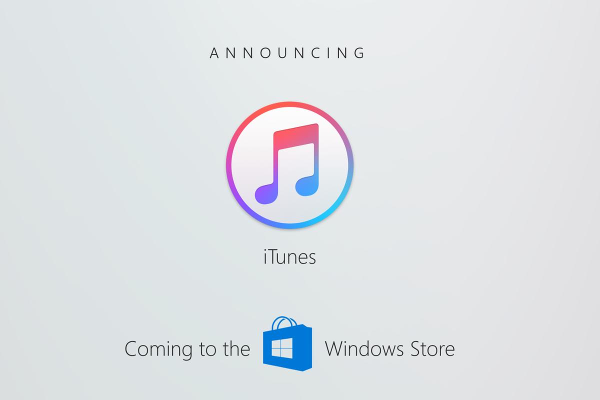 iTunes เตรียมลงบน Windows Store เร็วๆ นี้