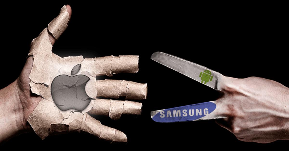 Samsung ครองส่วนแบ่งตลาดมือถือสูงสุดในอเมริกาแซงหน้า Apple ได้สำเร็จ