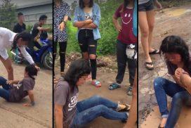 วิจารณ์ยับ กะเทยรุมตบเด็ก 14 เหยียบหัว เอาเท้าเขี่ย เพจดังสวดยับไร้จิตสำนึก