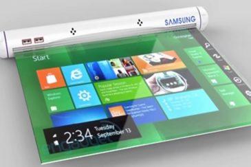 ล้ำไปอีก Samsung กำลังพัฒนาแท็บเล็ตหน้าจอม้วนได้