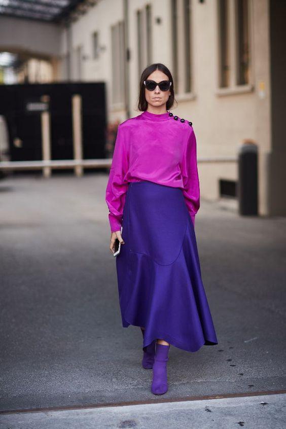 แฟชั่นสีม่วง Ultra Violet รับ Pantone 2018