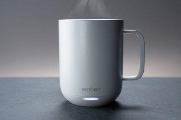 แก้วกาแฟอัจฉริยะ สามารถควบคุมอุณหภูมิให้คงที่