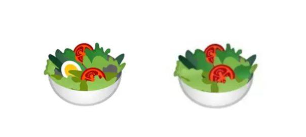 Google ปรับ Emoji สลัดผัก กับดราม่าเล็กๆ