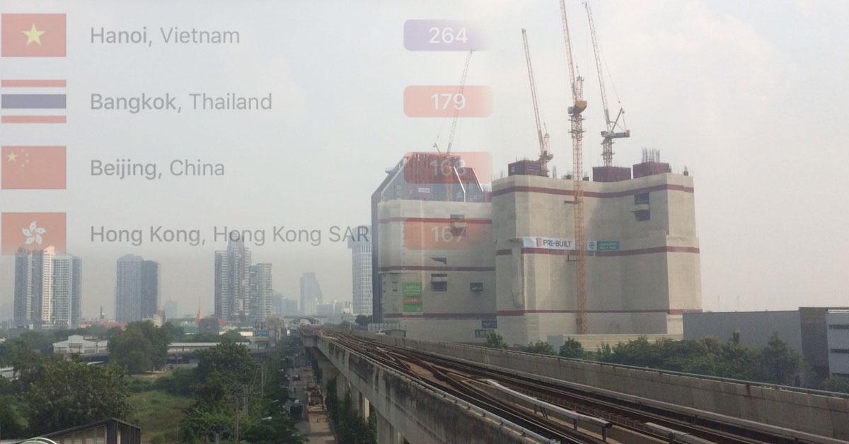 ค่าฝุ่นละออง PM25