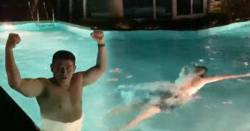 ธรรมนัส ว่ายน้ำ