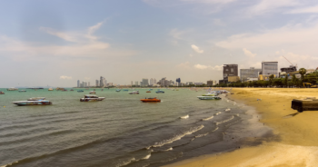 pattaya-Closed-beach-area