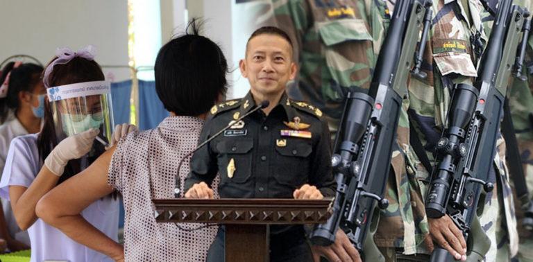 งบกองทัพ กับ งบสาธารณสุข