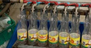 โรงงานผลิตน้ำปลาปลอม ชลบุรี